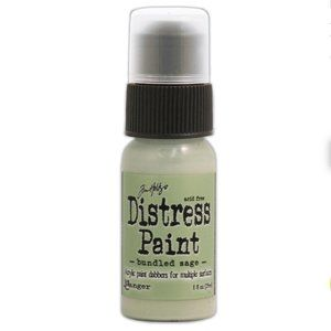 Tim Holtz Distress Paint- Bundled Sage